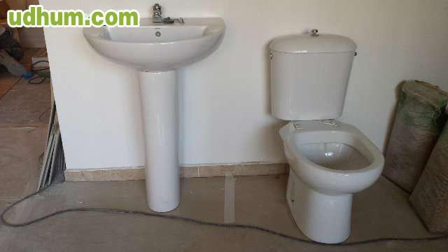 Pica de lavabo con pie inodoro victori for Pica lavabo roca