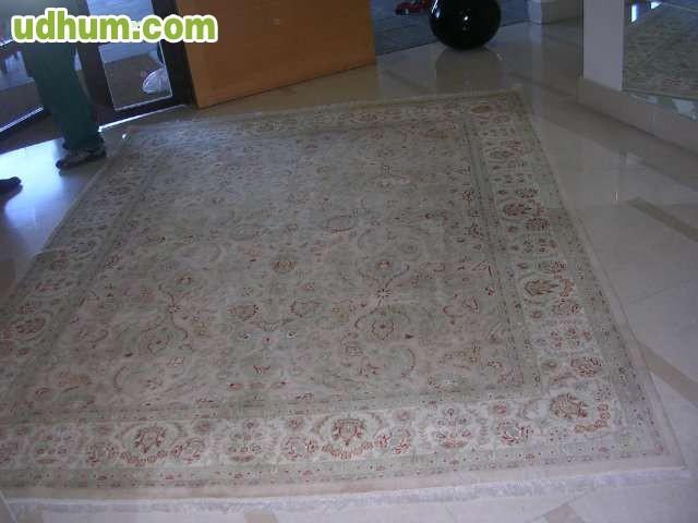 Alfombra persa doble nudo - Limpieza de alfombras persas ...