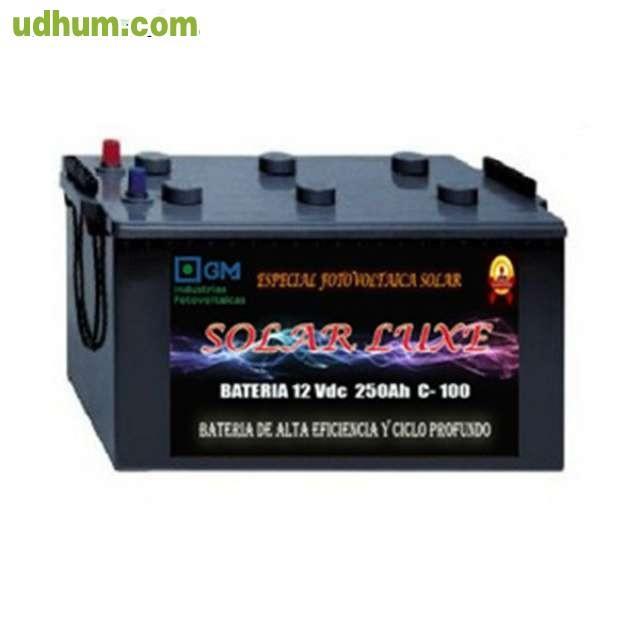 Baterias solares 250ah 12v for Baterias placas solares
