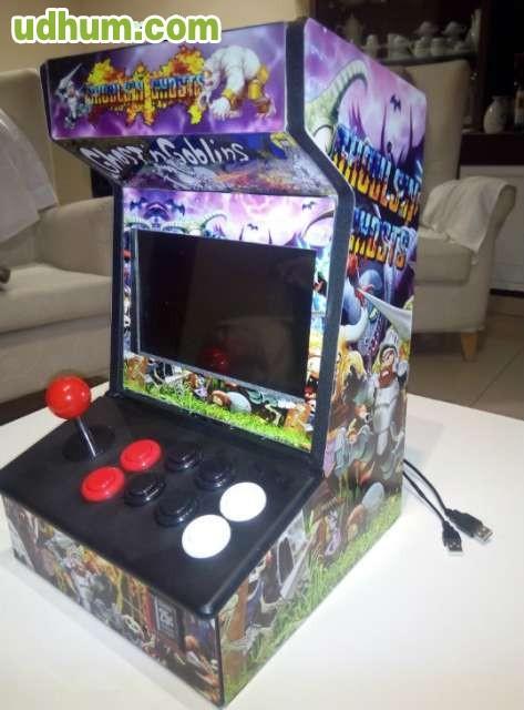 Maquina recreativa arcade mini arcade 1 for Conectar botones arcade a raspberry pi 3