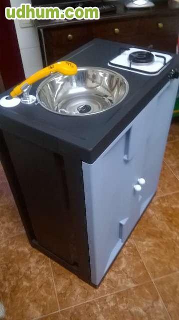 Mueble cocina fregadero ducha12v for Mueble fregadero cocina