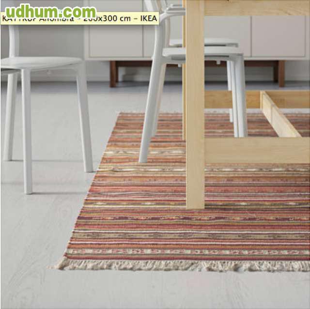 Alfombra de ikea kattrup 200x300 cm for Ikea alfombra azul