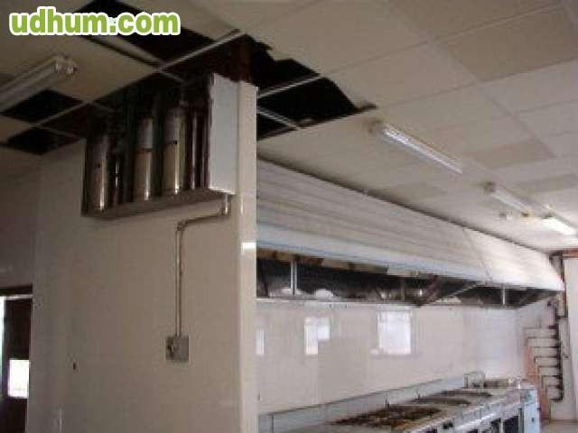 Campanas industriales 3 for Instalacion cocina industrial