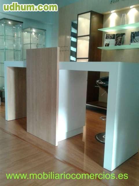 Vaporeta plancha mobiliario para tiendas - Plancha de pladur ...
