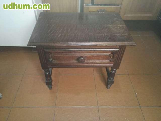 Muebles Antiguos Madera Maciza : Mueble antiguo de madera maciza
