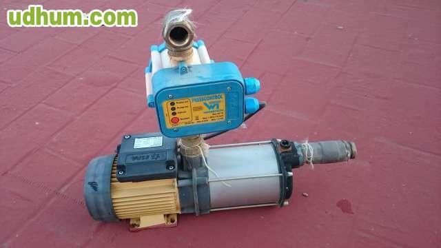 motor de presion de agua