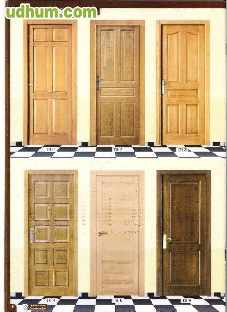 Puertas y ventanas de madera baratas for Puertas de madera baratas