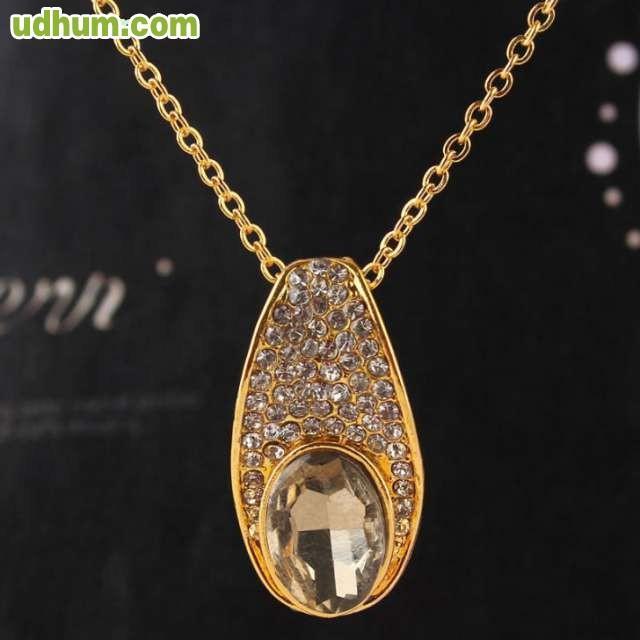 Colgante ba o de oro 14k cristal austria - Bano de oro precio ...