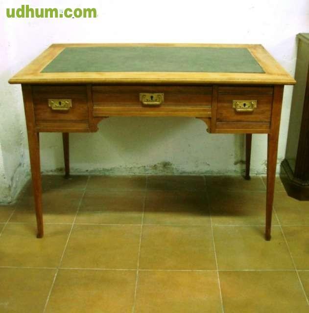 Mesa de escritorio cl sica art nouveau - Mesa escritorio clasica ...