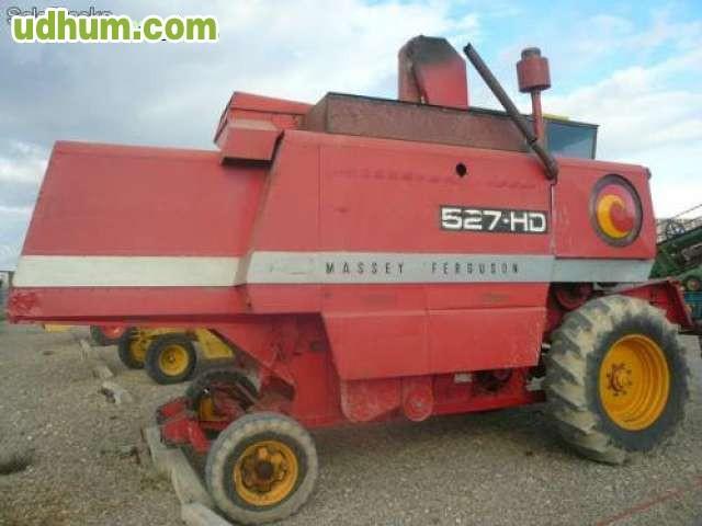 Cosechadora Massey Ferguson 527