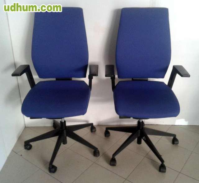 Lote sillas oficina segunda mano madrid for Sillas oficina madrid