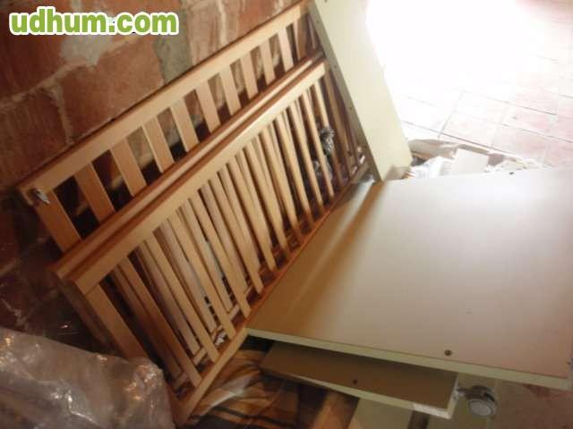 Cuna convertible a cama for Cama 70x140