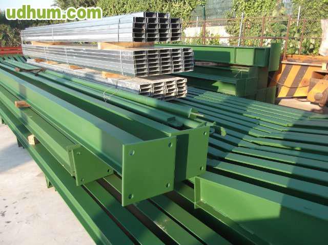Estructura metalica nave 750m2 12 900 for Naves prefabricadas de ocasion