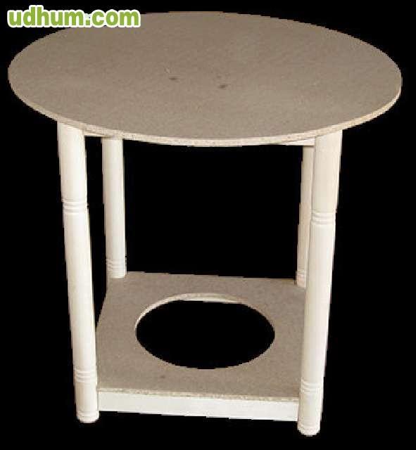 Mesas camillas rectangulares y redondas - Mesas camillas redondas ...