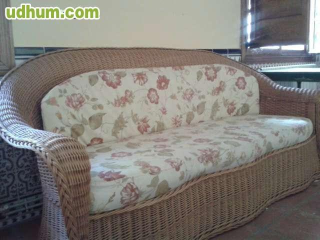 Sofas de mimbre y tumbona - Sofas de mimbre ...