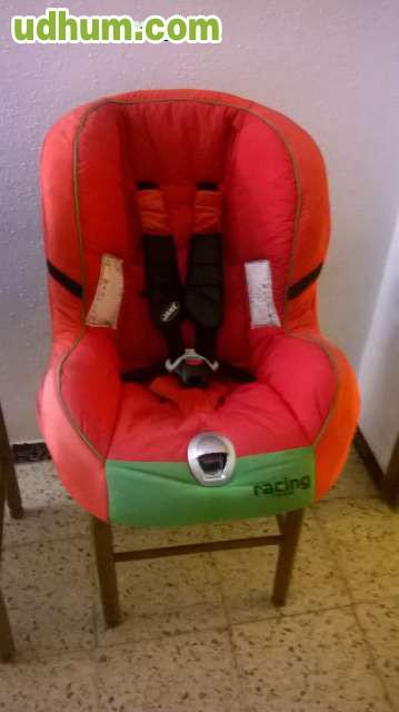 Silla infantil para el coche jane racing for Sillas infantiles coche
