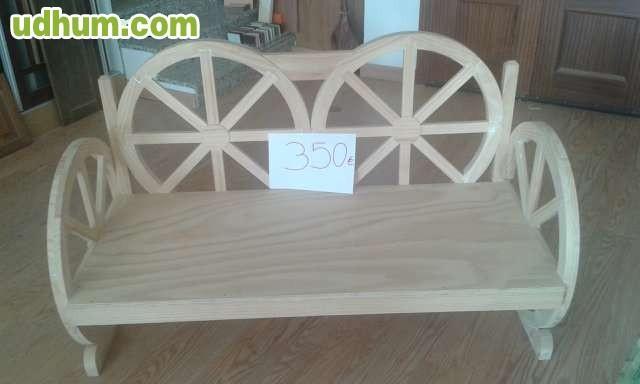 Muebles modernos y r sticos for Muebles rusticos badajoz