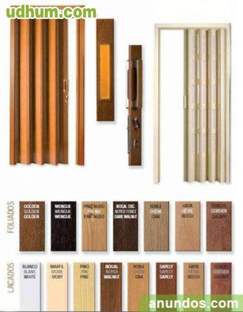 Puertas plegables pvc en gaona for Cortina plegable pvc
