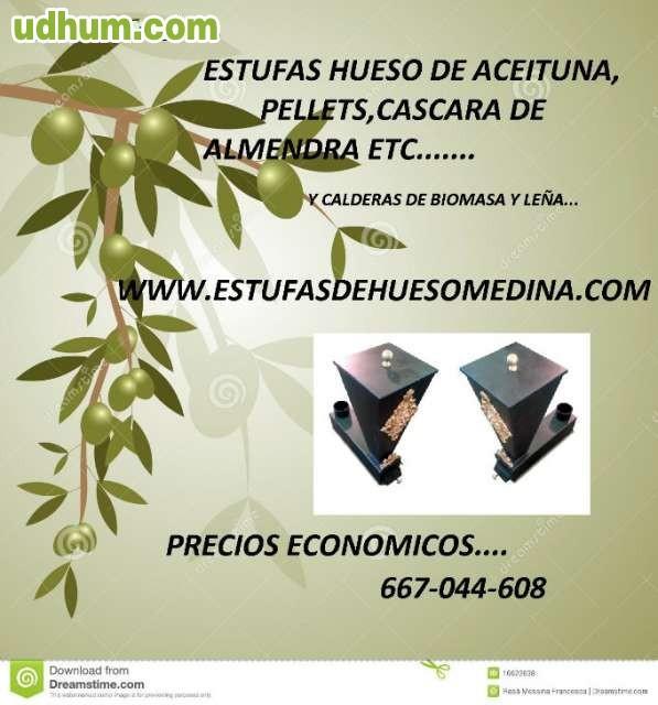 Estufas de biomasa hueso pellets cascara - Estufa de hueso de aceituna ...
