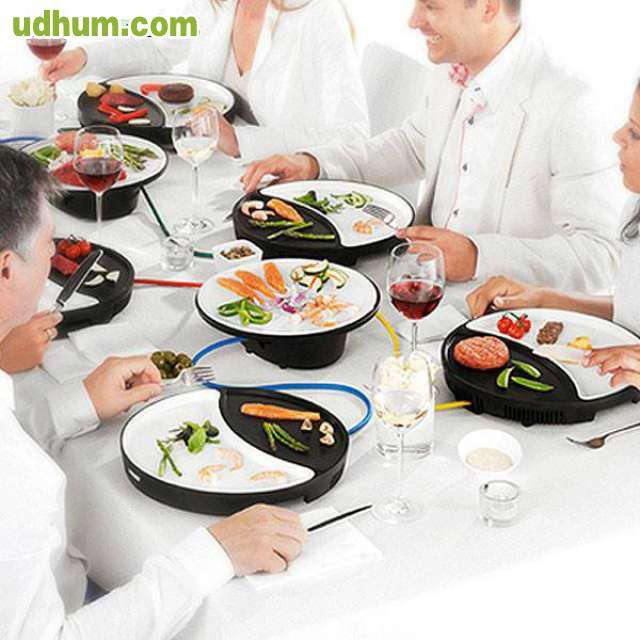 Set de platos plancha dinner4all princes for Set de platos