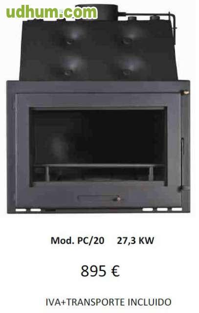 Hogares de le a metlor calefaccion for Calefaccion lena radiadores