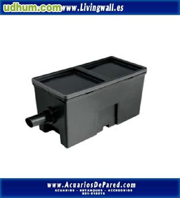 Filtro caja estanques 2000 litros for Filtros para estanques baratos