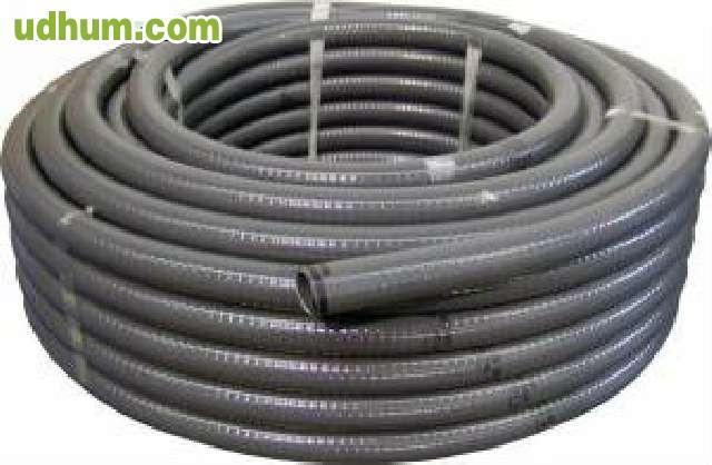 Tubo flexible pvc 40mm rollo 25 mts - Tuberia flexible pvc ...