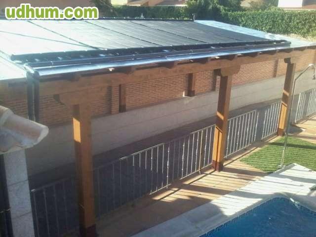 Garajes cubiertas tejados for Cubiertas para garajes