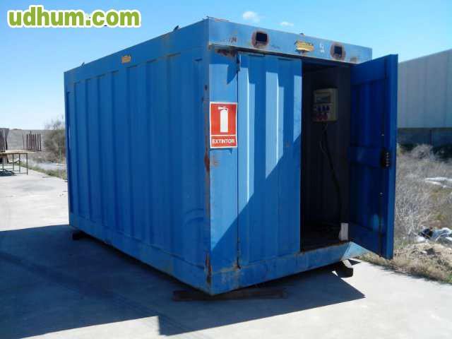 Caseta contenedor para obra for Vendo caseta metalica
