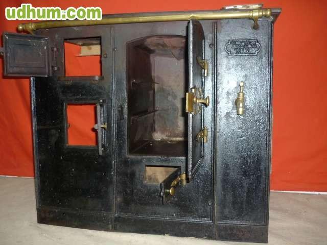 Antigua cocina de le a hierro fundido - Fotos de cocinas de lena antiguas ...