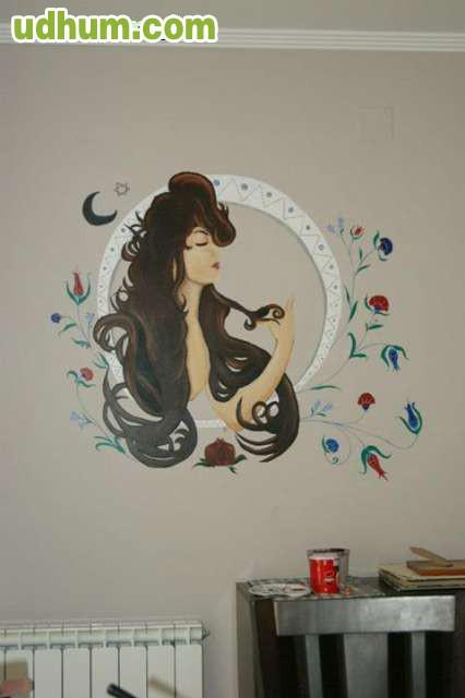 Murales pintados a mano 4 - Murales pintados a mano ...