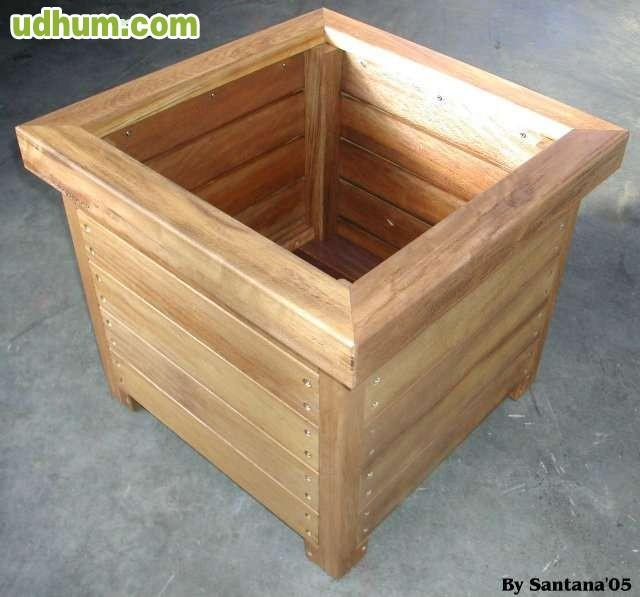 Maceta de madera 3 - Maceta de madera ...