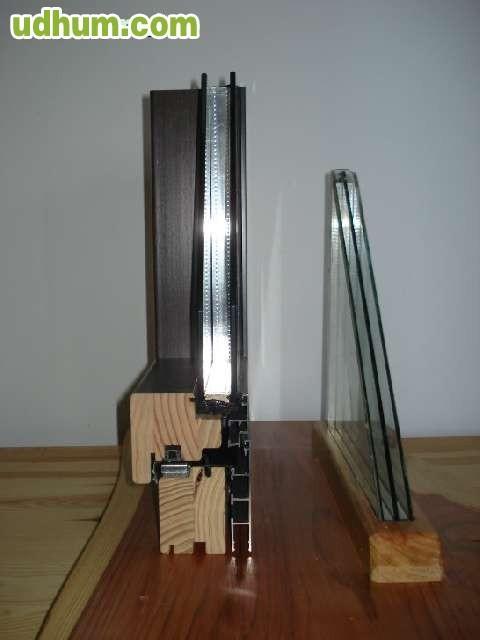 Oferta ventanas madera baratas balcones for Porticones madera exteriores