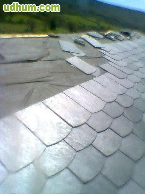 Arreglo de tejados velux goteras - Tela asfaltica pizarra ...