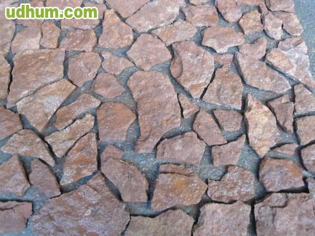 Piedra natural de pizarra roja for Piedra natural pizarra