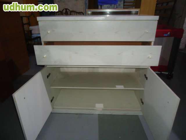 Mueble con estanter as y cajones - Muebles en alcantarilla ...