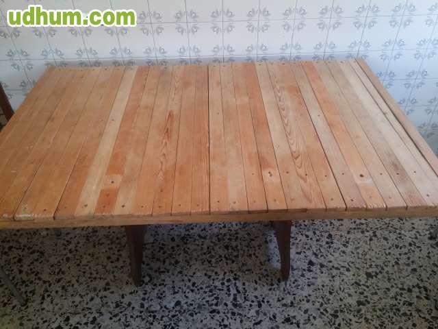 Mesa madera hecha a mano - Mesas de madera hechas a mano ...