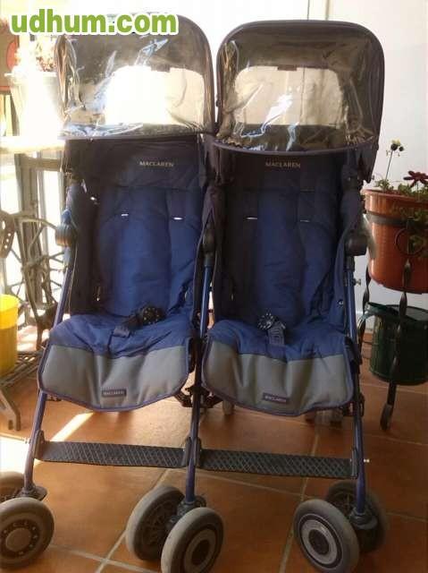 Maclaren gemelar twin techno for Mclaren carro de paseo