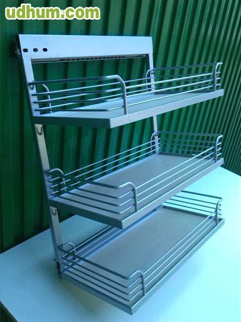 Accesorio para mueble de cocina for Accesorio extraible mueble cocina