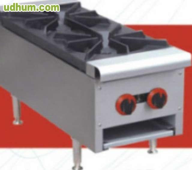 Cocina industrial 2 fuegos gas nueva for Cocinas a gas nuevas