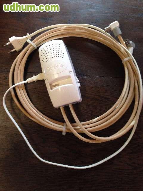 Amplificador interior televisi n telev s - Amplificador de antena interior ...