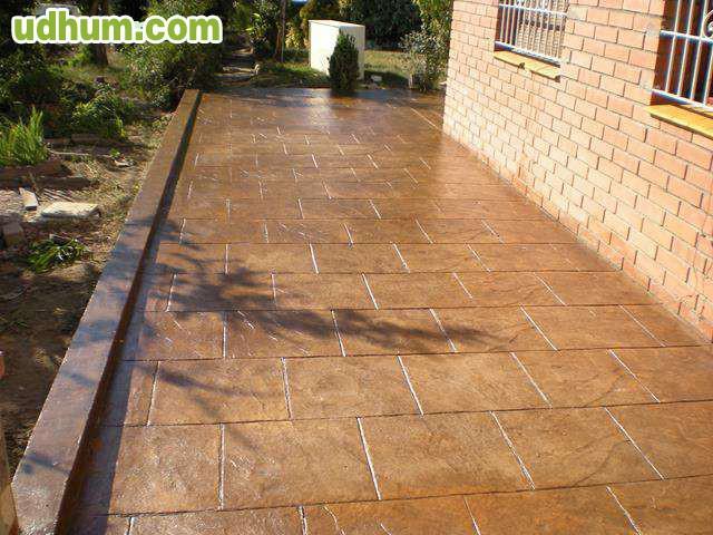 Pavimento impreso decorativo 4 - Hormigon decorativo para suelos ...