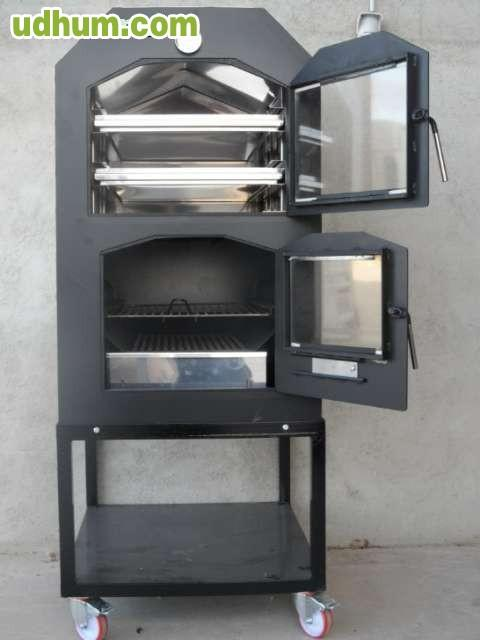 Barbacoas y hornos metalicos de le a - Barbacoas y hornos de lena ...