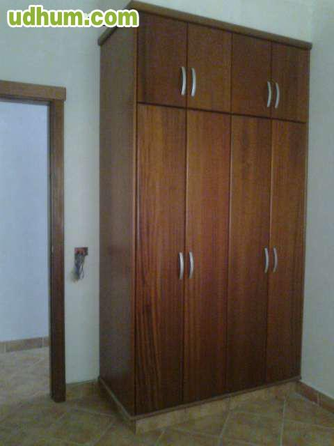 Armarios de madera despacho oficina casa 1 for Armarios para despachos