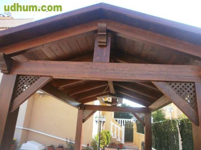 Vigas de madera laminada - Cubiertas de madera laminada ...