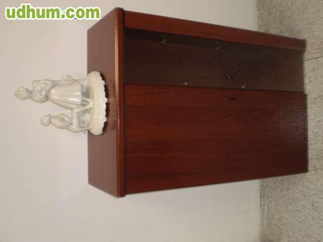 Peque o mueble bar for Bar madera pequeno