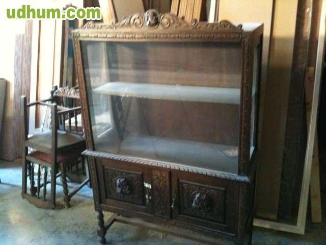 Conjunto de muebles antiguos de epoca for Muebles de epoca