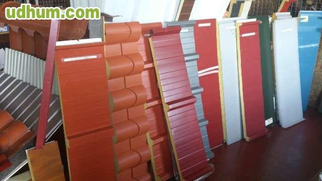Venta panel sandwich y panel teja - Material para tejados ...