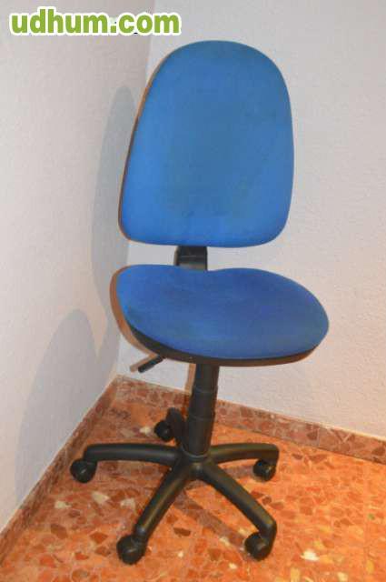 Silla para escritorio con ruedas for Sillas escritorio zaragoza