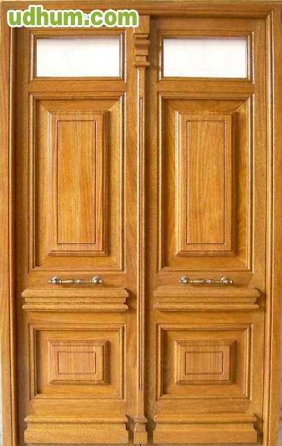 Puertas de calle madera para exterior - Puertas de madera exteriores ...